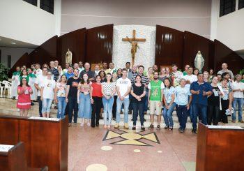Paróquia Santa Terezinha realiza 1º Encontro de leigas e leigos do Verbo Divino