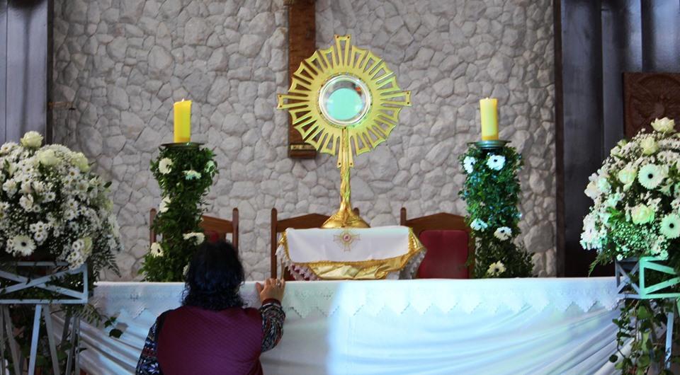 Paróquias de Guarapuava reúnem-se na Matriz Santa Terezinha para, em comunhão, celebrar Corpus Christi
