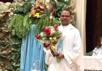 Missionário da Congregação do Verbo Divino – SVD recebe nova missão