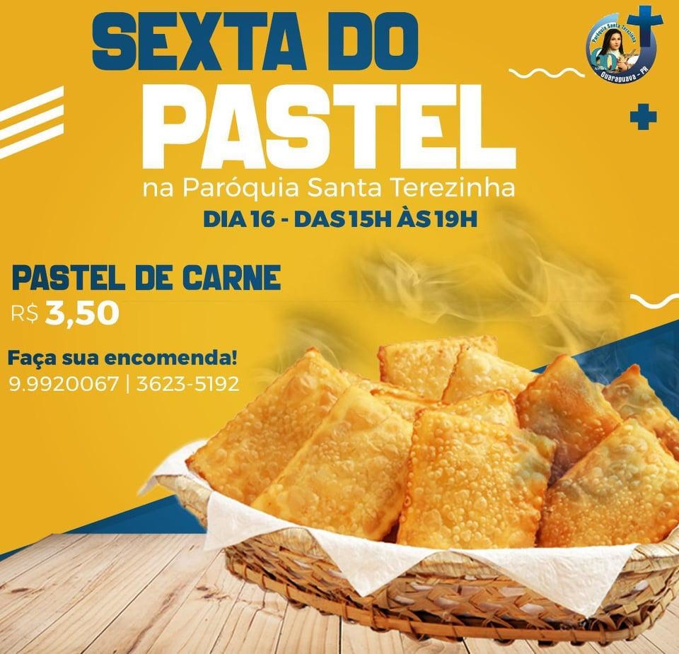 "Paróquia Santa Terezinha promove a ""Sexta do Pastel"""