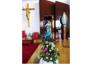 Paróquia Santa Terezinha recebe a visita da imagem peregrina de Nossa Senhora de Belém