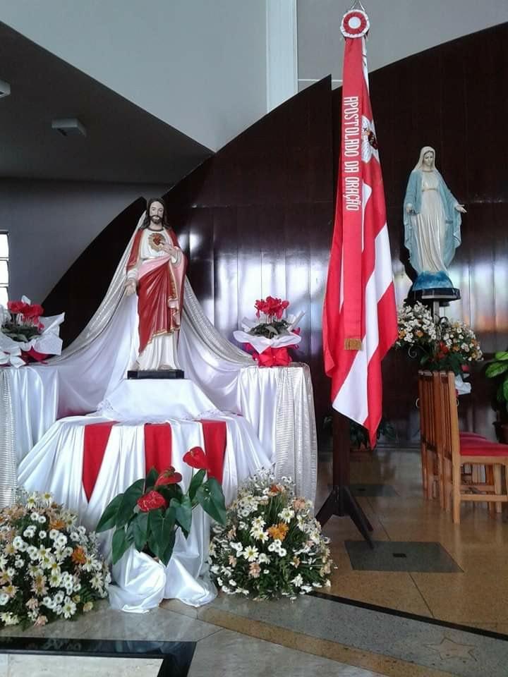 Missa do Apostolado da Ora莽茫o retorna nesta sexta-feira