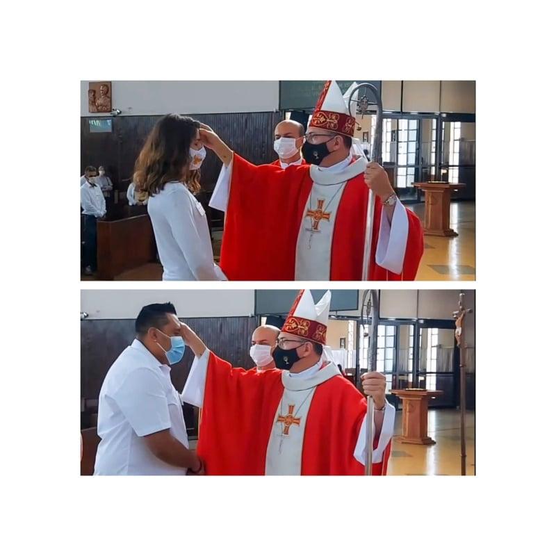 Par贸quia Santa Terezinha celebrou o sacramento da Crisma no 煤ltimo s谩bado